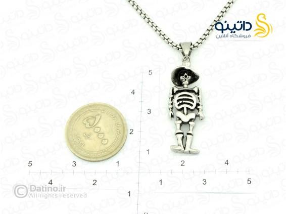 عکس گردنبند مردانه اسکلت مرگ-Xiaonuo.N.17 - انواع مدل گردنبند مردانه اسکلت مرگ-Xiaonuo.N.17