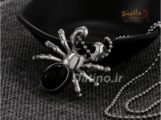 عکس گردنبند مردانه عنکبوت سمی-Xiaonuo.N.23 - انواع مدل گردنبند مردانه عنکبوت سمی-Xiaonuo.N.23