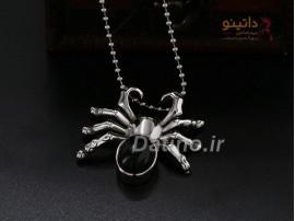 گردنبند مردانه عنکبوت سمی-Xiaonuo.N.23