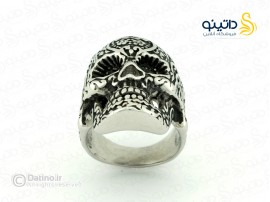انگشتر مردانه جمجمه کالاورا xiaonuo-r-2