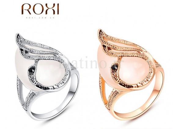 عکس انگشتر زنانه پرنده و اپال روکسی-Roxi.R.10 - انواع مدل انگشتر زنانه پرنده و اپال روکسی-Roxi.R.10