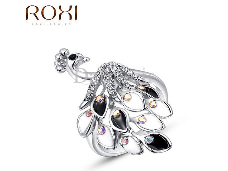 عکس انگشتر زنانه زیبای پیکاک روکسی-Roxi.R.17 - انواع مدل انگشتر زنانه زیبای پیکاک روکسی-Roxi.R.17