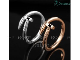 انگشتر زنانه زیبای میخ روکسی-Roxi.R.22
