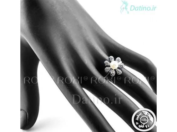 عکس انگشتر زنانه فلاور پیرل روکسی-Roxi.R.28 - انواع مدل انگشتر زنانه فلاور پیرل روکسی-Roxi.R.28