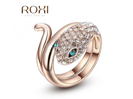 عکس انگشتر زنانه لوکس مار روکسی-Roxi.R.32 - انواع مدل انگشتر زنانه لوکس مار روکسی-Roxi.R.32