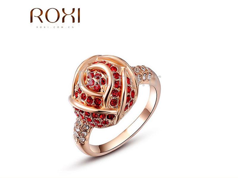 عکس انگشتر زنانه رز کویین روکسی-Roxi.R.5 - انواع مدل انگشتر زنانه رز کویین روکسی-Roxi.R.5