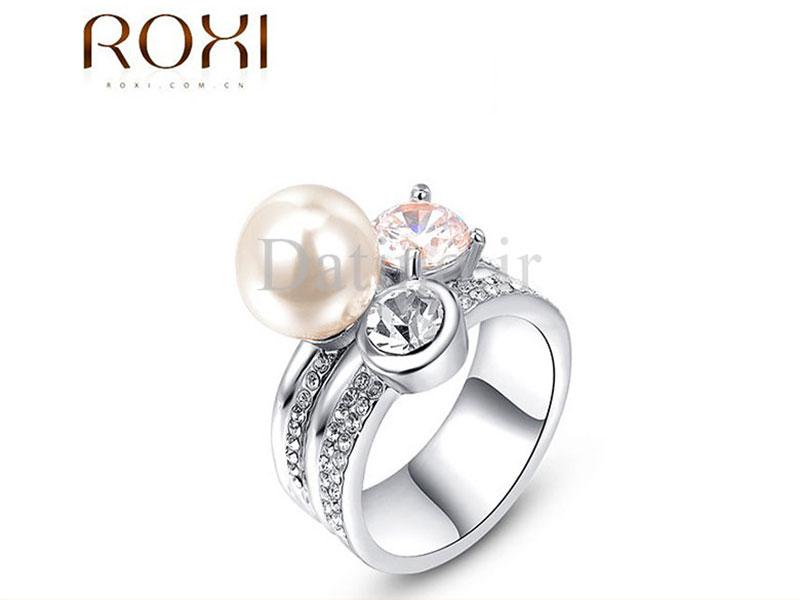 عکس انگشتر زنانه کریا طرح مروارید روکسی-Roxi.R.9 - انواع مدل انگشتر زنانه کریا طرح مروارید روکسی-Roxi.R.9