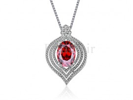 گردنبند زنانه یاقوت سرخ کانزیست الیزابت-Royal.N.6