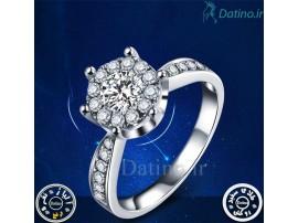 انگشتر زنانه الماس کیوت کویین-Royal.R.11