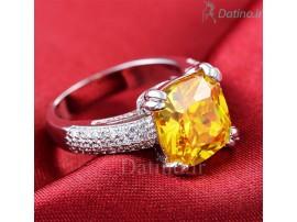 انگشتر زنانه وازیل سیترین-Royal.R.114