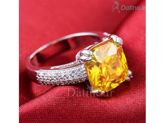 عکس انگشتر زنانه وازیل سیترین-Royal.R.114 - انواع مدل انگشتر زنانه وازیل سیترین-Royal.R.114