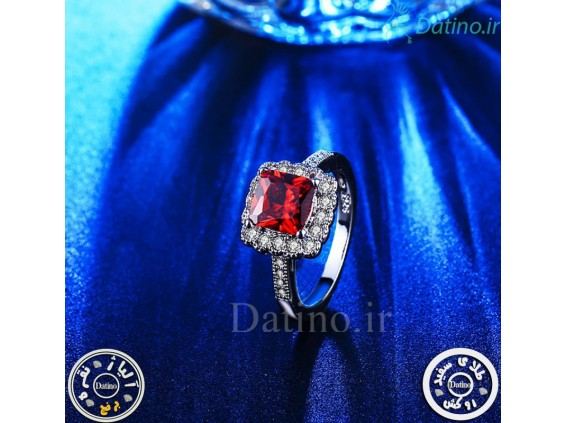 عکس انگشتر زنانه یاقوت سرخ کانزیست-Royal.R.14 - انواع مدل انگشتر زنانه یاقوت سرخ کانزیست-Royal.R.14