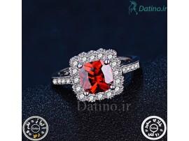 انگشتر زنانه یاقوت سرخ کانزیست-Royal.R.14