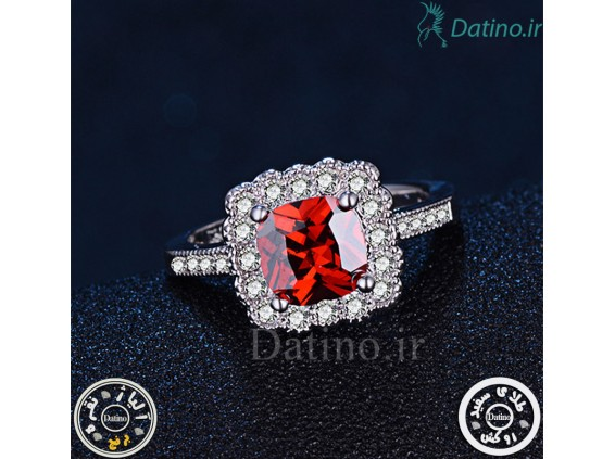 عکس انگشتر زنانه یاقوت سرخ کانزیست-Royal.R.14 - مدل انگشتر زنانه یاقوت سرخ کانزیست-Royal.R.14