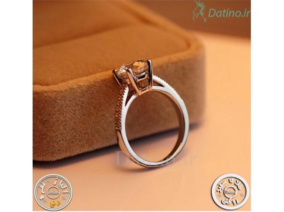 عکس انگشتر زنانه الماس کوایت دریم-Royal.R.19 - انواع مدل انگشتر زنانه الماس کوایت دریم-Royal.R.19