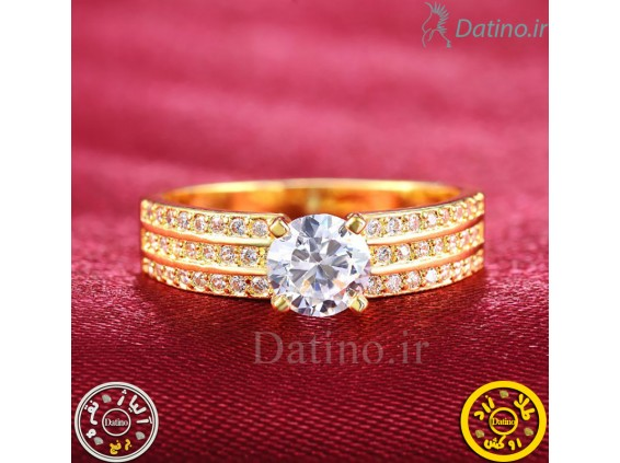 عکس انگشتر زنانه الماس گلدن دریم-Royal.R.20 - انواع مدل انگشتر زنانه الماس گلدن دریم-Royal.R.20