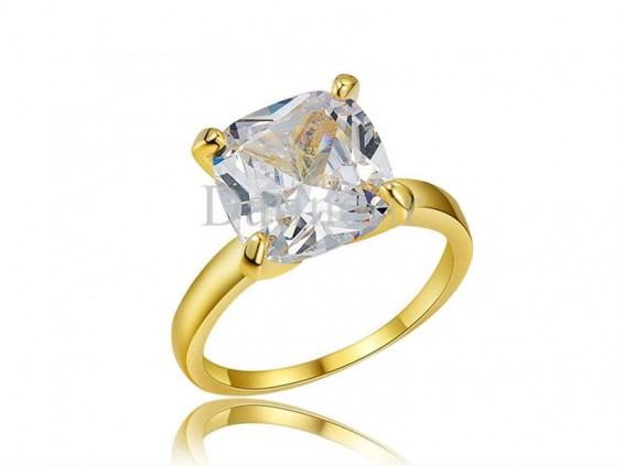 عکس انگشتر زنانه روکش رز گلد سیمپل آوریک الماس-Royal.R.21 - انواع مدل انگشتر زنانه روکش رز گلد سیمپل آوریک الماس-Royal.R.21
