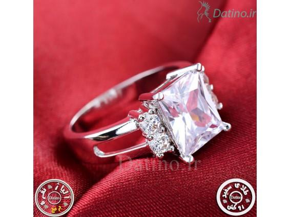 عکس انگشتر زنانه آیس دریم الماس-Royal.R.26 - انواع مدل انگشتر زنانه آیس دریم الماس-Royal.R.26