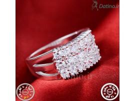 انگشتر زنانه الگانت کریستال الماس-Royal.R.38