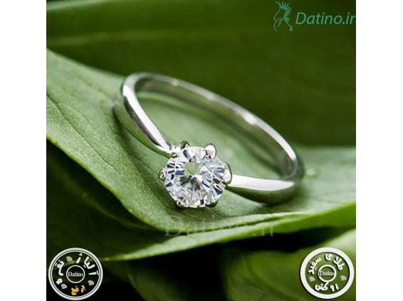 عکس انگشتر زنانه سیمپل لایف زیرکن شفاف-Royal.R.55 - انواع مدل انگشتر زنانه سیمپل لایف زیرکن شفاف-Royal.R.55