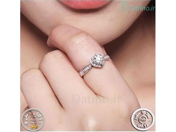 عکس انگشتر زنانه قلب آندورا-Royal.R.61 - انواع مدل انگشتر زنانه قلب آندورا-Royal.R.61