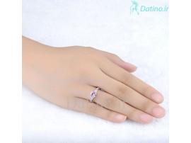 انگشتر زنانه لوکس یاقوت صورتی مارتینا-Royal.R.63