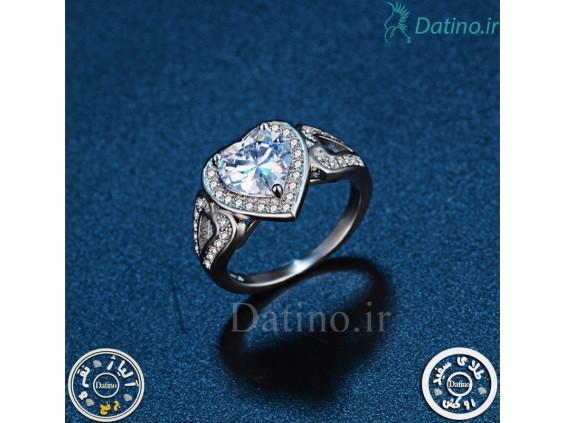 عکس انگشتر زنانه قلب جستار-Royal.R.72 - انواع مدل انگشتر زنانه قلب جستار-Royal.R.72