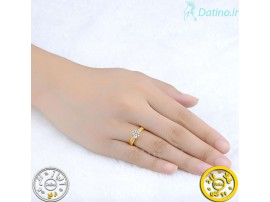 انگشتر زنانه زیرکن میکسو-Royal.R.74
