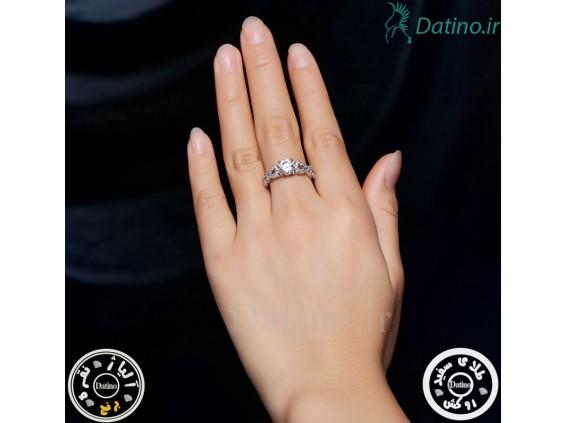 عکس انگشتر زنانه زیرکن رادیا-Royal.R.77 - انواع مدل انگشتر زنانه زیرکن رادیا-Royal.R.77