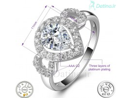 انگشتر زنانه زیرکن مادالین-Royal.R.79