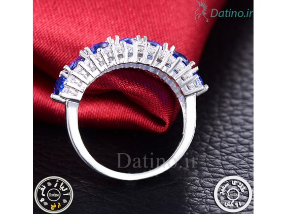عکس انگشتر زنانه آمیتیست کارلی-Royal.R.80 - مدل انگشتر زنانه آمیتیست کارلی-Royal.R.80