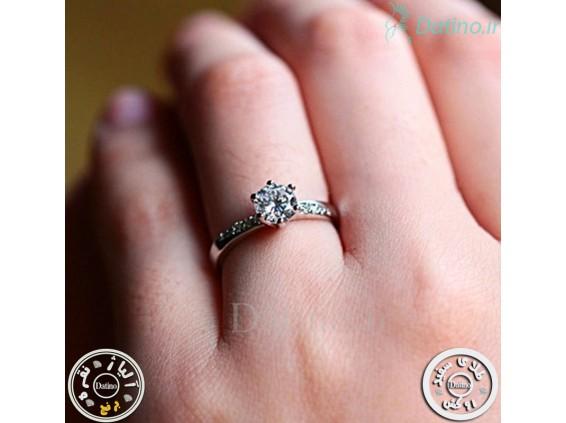 عکس انگشتر زنانه زیرکن امینا-Royal.R.81 - انواع مدل انگشتر زنانه زیرکن امینا-Royal.R.81