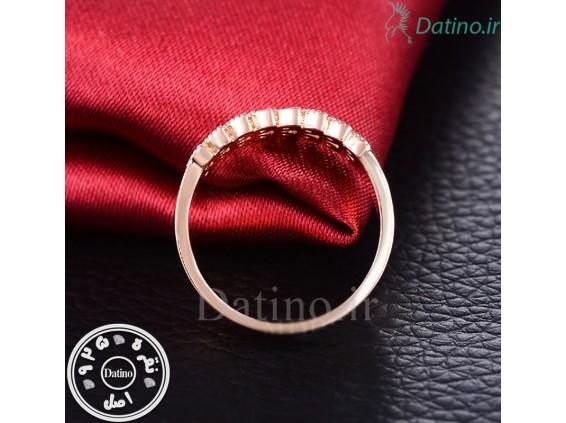 عکس انگشتر زنانه طلا زرد ملیزنت-Royal.R.83 - انواع مدل انگشتر زنانه طلا زرد ملیزنت-Royal.R.83