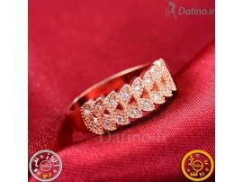 انگشتر زنانه طلا زرد ملیزنت-Royal.R.83