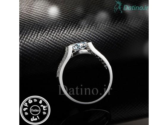 عکس انگشتر زنانه کانتیک آنجل کریستال الماس-Royal.R.89 - انواع مدل انگشتر زنانه کانتیک آنجل کریستال الماس-Royal.R.89