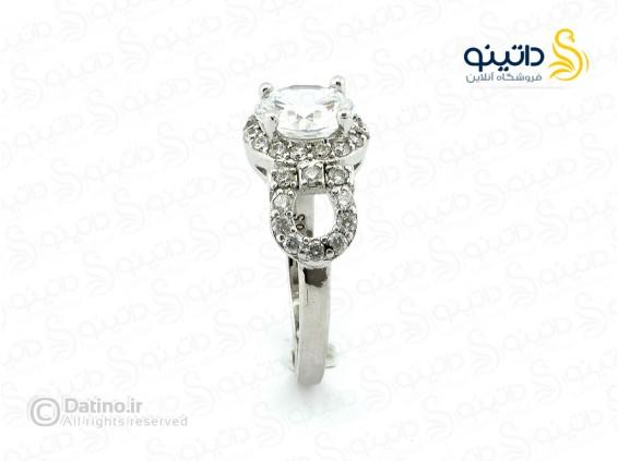 عکس انگشتر زنانه زیرکن رومسا-Royal.R.94 - انواع مدل انگشتر زنانه زیرکن رومسا-Royal.R.94