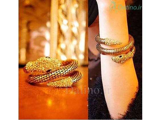 عکس دستبند زنانه مار طلایی-Toxic.B.26.1 - مدل دستبند زنانه مار طلایی-Toxic.B.26.1