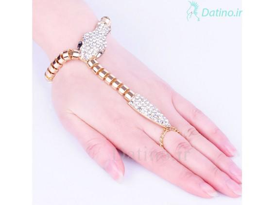 عکس دستبند زنانه مار مصری-Toxic.B.31 - انواع مدل دستبند زنانه مار مصری-Toxic.B.31