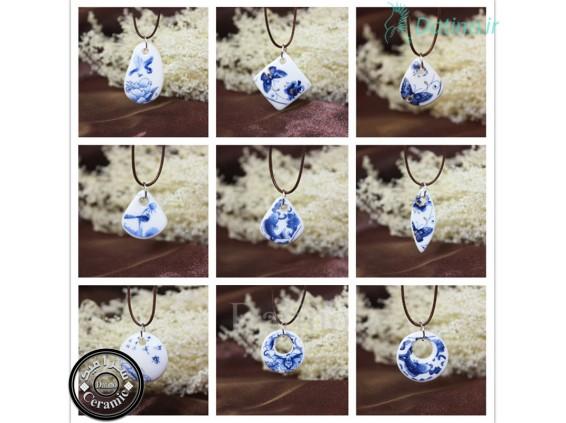عکس گردنبند زنانه سرامیکی طرح سیمپل گل رز آبی-Toxic.N.10.6 - انواع مدل گردنبند زنانه سرامیکی طرح سیمپل گل رز آبی-Toxic.N.10.6