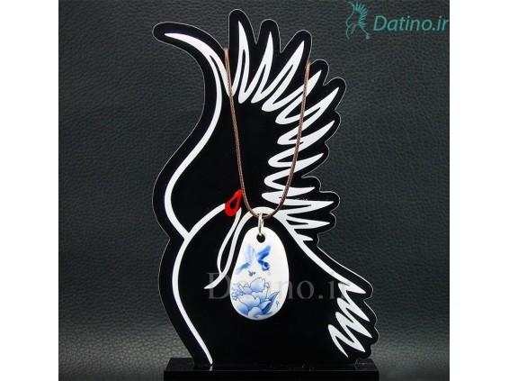 عکس گردنبند زنانه سرامیکی طرح سیمپل گل و پرنده-Toxic.N.10.9 - انواع مدل گردنبند زنانه سرامیکی طرح سیمپل گل و پرنده-Toxic.N.10.9