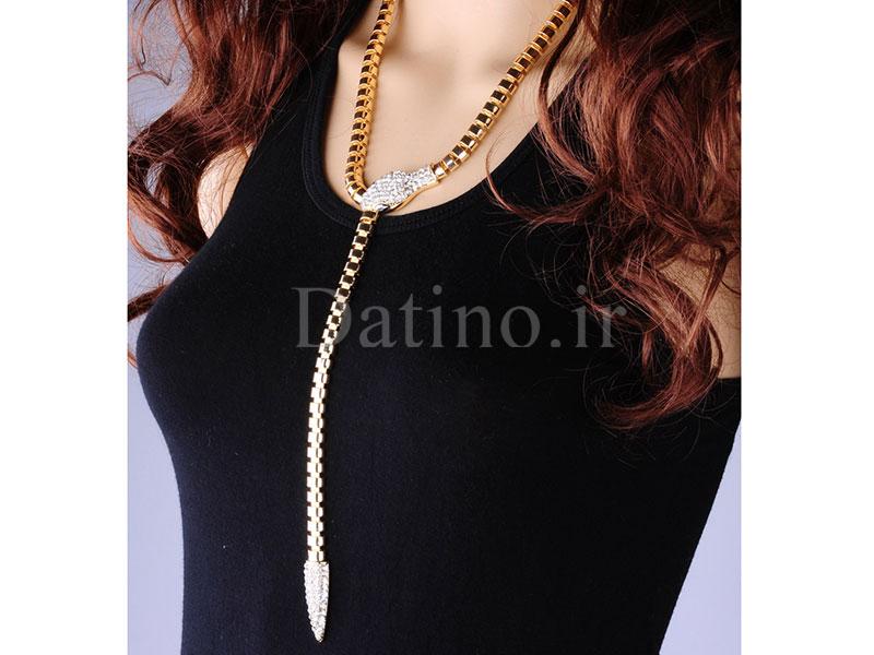عکس گردنبند زنانه مار مصری-Toxic.N.123 - انواع مدل گردنبند زنانه مار مصری-Toxic.N.123