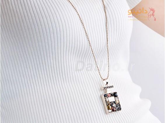 عکس گردنبند زنانه لوکس مربع کریستالی-Toxic.N.143 - مدل گردنبند زنانه لوکس مربع کریستالی-Toxic.N.143