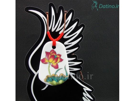 عکس گردنبند زنانه سرامیکی لاریک طرح گل سافت-Toxic.N.15.4 - انواع مدل گردنبند زنانه سرامیکی لاریک طرح گل سافت-Toxic.N.15.4
