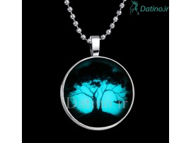 گردنبند شب تاب طرح درخت زندگی-Toxic.N.5.3