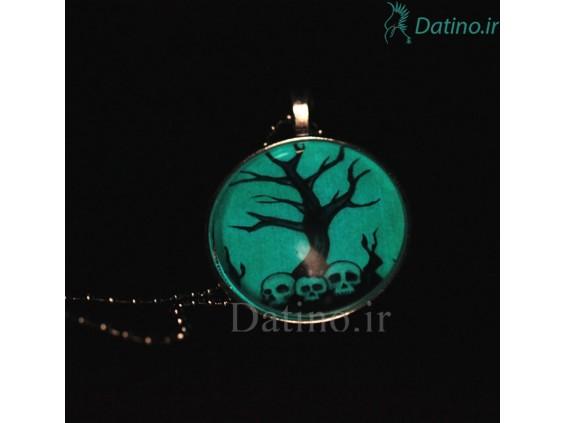 عکس گردنبند شب تاب طرح درخت مرگ-Toxic.N.5.6 - انواع مدل گردنبند شب تاب طرح درخت مرگ-Toxic.N.5.6