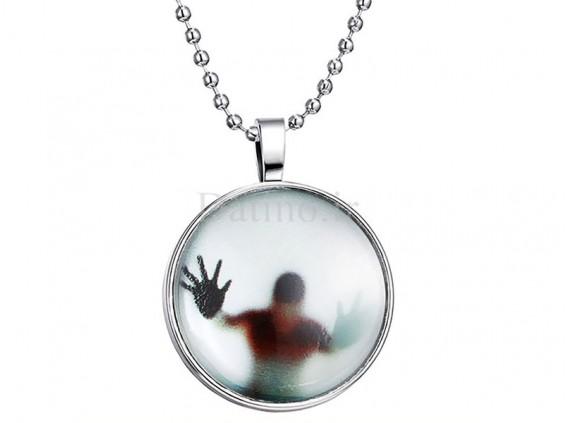 عکس گردنبند شب تاب طرح زندان شیشه ای-Toxic.N.5.2 - انواع مدل گردنبند شب تاب طرح زندان شیشه ای-Toxic.N.5.2