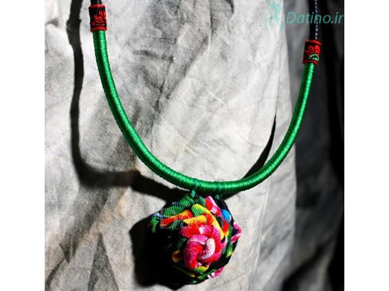 عکس گردنبند زنانه بافتنی طرح گل رز رنگارنگ-Toxic.N.53 - انواع مدل گردنبند زنانه بافتنی طرح گل رز رنگارنگ-Toxic.N.53