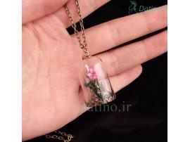 گردنبند زنانه شیشه ای بطری رویایی جسامین-Toxic.N.83