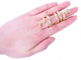 انگشتر زنانه مار مصری-Toxic.R.20