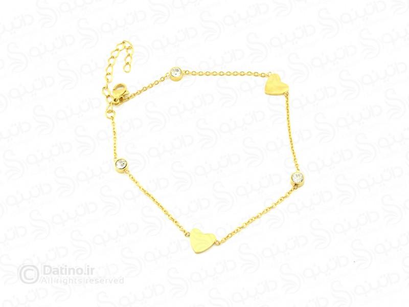 عکس پابند زنانه استیل قلب-zarrin-a-5 - انواع مدل پابند زنانه استیل قلب-zarrin-a-5